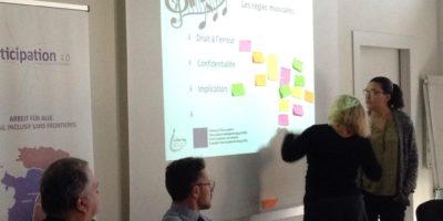 Participation 4.0 - Workshop mit Beamer